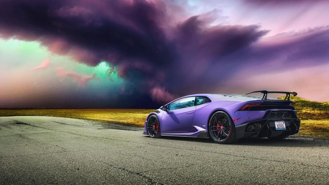 C Sc9 Lamborghini Huracan Purple Car Supercar 4k Jpg Imageination